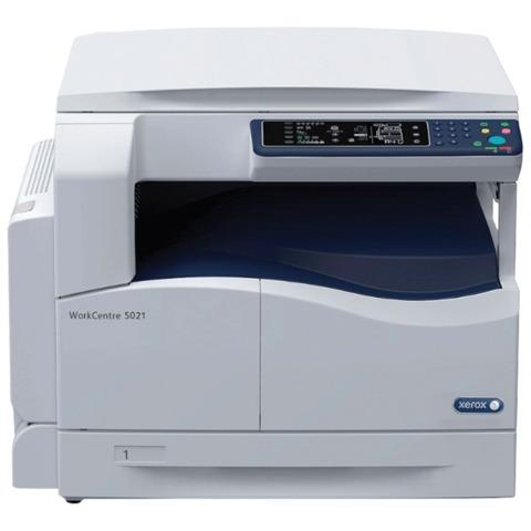 МФУ лазерное XEROX WorkCentre 5021(принтер, копир, сканер), А3, 20 стр./<wbr/>мин., 25000 стр./<wbr/>мес., (без кабеля USB)