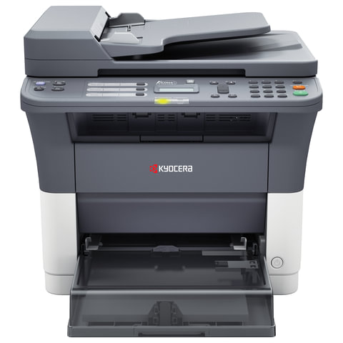 МФУ лазерное KYOCERA FS-1120MFP (принтер, копир, сканер, факс), А4, 20 стр./<wbr/>мин, 20000 стр./<wbr/>мес., АПД (без кабеля USB)