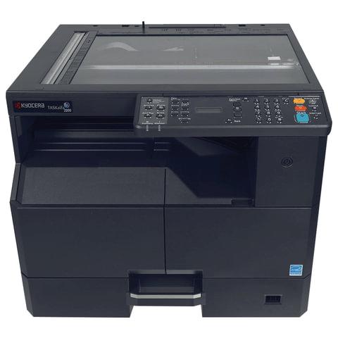МФУ лазерное KYOCERA TASKalfa 2200 (принтер, копир, сканер), А3/A4, 10/22 стр./мин., 30000 стр./мес., без крышки