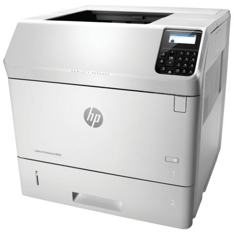 Принтер лазерный HP LaserJet Enterprise M605dn, А4, 55 стр./<wbr/>мин., 225000 стр./<wbr/>мес., ДУПЛЕКС, сетевая карта (без кабеля USB)