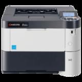 Принтер лазерный KYOCERA FS-2100DN, А4, 40 стр./<wbr/>мин., 150000 стр./<wbr/>мес., ДУПЛЕКС, сетевая карта (без кабеля USB)