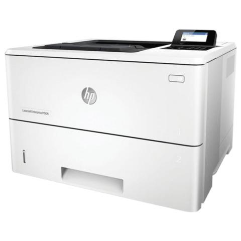 Принтер лазерный HP LaserJet Enterprise M506dn, А4, 43 стр./<wbr/>мин., 150000 стр./<wbr/>мес., ДУПЛЕКС, сетевая карта (без кабеля USB)