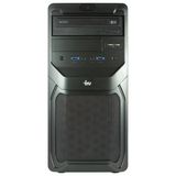 Системный блок IRU Office 510 MT INTEL Core-i5 4460, 3,2 ГГц, 4 Гб, 500 Гб, DVD-RW, Windows 7 Pro, черный