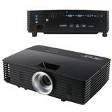 Проектор мультимедийный ACER P1285, DLP, 1024×768, 3300 Лм, 20000:1, 2,0 кг, 3D, VGA