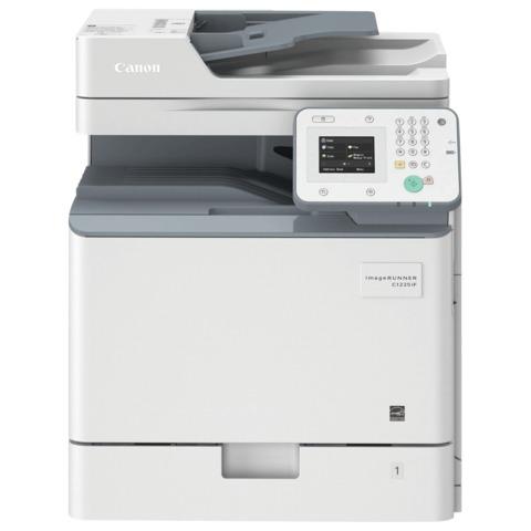МФУ лазерное ЦВЕТНОЕ CANON iR C1225IF (копир, принтер, сканер, факс), А4, 40000 стр./<wbr/>мес., ДУПЛЕКС, ДАПД, сетевая карта