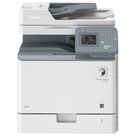МФУ лазерное ЦВЕТНОЕ CANON iR C1325IF (копир, принтер, сканер, факс), А4, 40000 стр./<wbr/>мес, ДУПЛЕКС, ДАПД, сетевая карта, без тонера