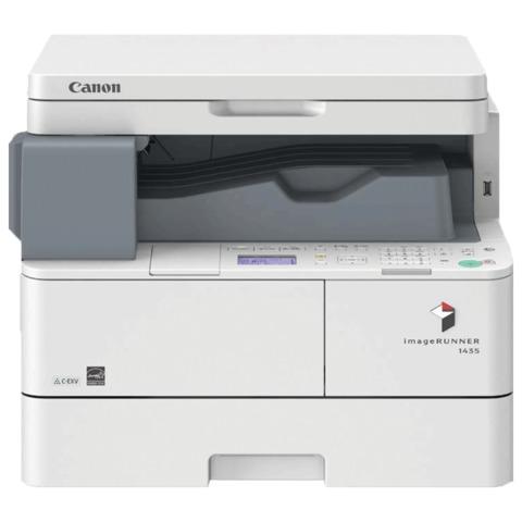МФУ лазерное CANON iR1435 (копир, принтер, сканер), А4, 35 стр./мин, 60000 стр./мес., ДУПЛЕКС, сетевая карта, без кабеля USB