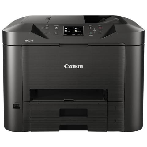 МФУ струйное CANON MAXIFY MB5340 (принтер, сканер, копир, факс), А4, 600×1200, 23 стр./<wbr/>мин, 30000 стр./<wbr/>мес., Wi-Fi, ДУПЛЕКС, с/<wbr/>к