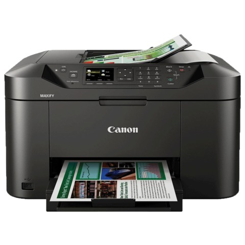 МФУ струйное CANON MAXIFY MB2040 (принтер, сканер, копир, факс), А4, 600×1200, 16 стр./<wbr/>мин, 15000 стр./<wbr/>мес., Wi-Fi, ДУПЛЕКС
