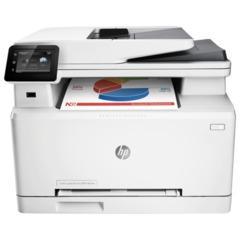 МФУ лазерное ЦВЕТНОЕ HP LaserJet Pro M274n (принтер, сканер, копир), А4, 18 стр./<wbr/>мин., 30000 стр./<wbr/>мес., сетевая карта, б/<wbr/>к USB