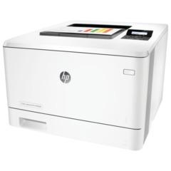 Принтер лазерный ЦВЕТНОЙ HP LaserJet Pro 400 M452dn, А4, 27 стр./<wbr/>мин., 50000 стр./<wbr/>мес., ДУПЛЕКС, сетевая карта, без кабеля USB