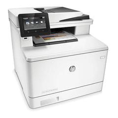 МФУ лазерное ЦВЕТНОЕ HP LaserJet Pro M477fnw (принтер, сканер, копир, факс), А4, 27 стр./<wbr/>мин, 50000 стр./<wbr/>мес., АПД, Wi-Fi, с/<wbr/>к