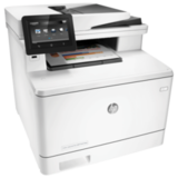 МФУ лазерное ЦВЕТНОЕ HP LaserJet Pro M477fdw (принтер, сканер, копир, факс), А4, 27 с./<wbr/>мин, 50000 с./<wbr/>мес, АПД, ДУПЛЕКС, с/<wbr/>к, Wi-Fi