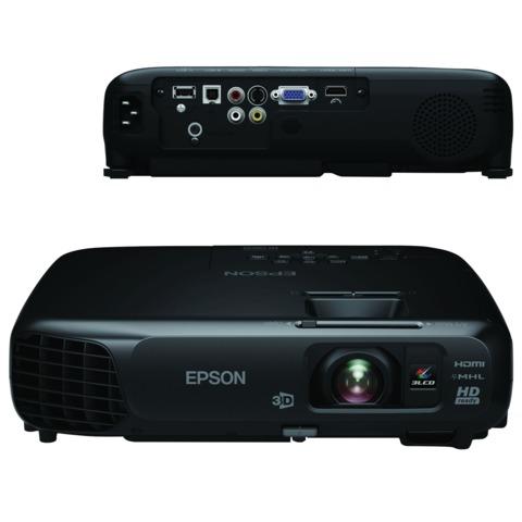 Проектор EPSON EH-TW570, LCD, 1280x800, 16:10, 3000 лм, 15000:1, 2,4 кг