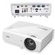 Проектор мультимедийный BENQ MX726, DLP, 1024×768, 4000 Лм, 11000:1, 3D, VGA, HDMI