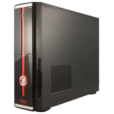 Системный блок IRU Office 310 SFF INTEL Core-i3 4170, 3,7 ГГц, 4 Гб, 500 Гб, DOS, черный