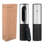 Веб-камера LOGITECH ConferenceCam Connect Silver, 10 Мпикс., USB 3.0/<wbr/>2.0, микрофон, автофокус