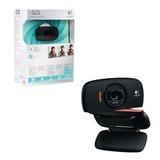 Веб-камера LOGITECH HD Webcam C525, 8 Мп, USB 2.0, микрофон, автофокус, черный