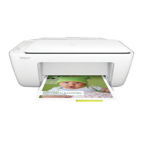 МФУ струйное HP Deskjet 2130 (принтер, сканер, копир), A4, 4800х1200, 20 стр./мин (без кабеля USB)
