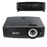 Проектор мультимедийный ACER P6200S, DLP, 1024×768, 5000 Лм, 20000:1, 3D, VGA, HDMI, короткофокусный