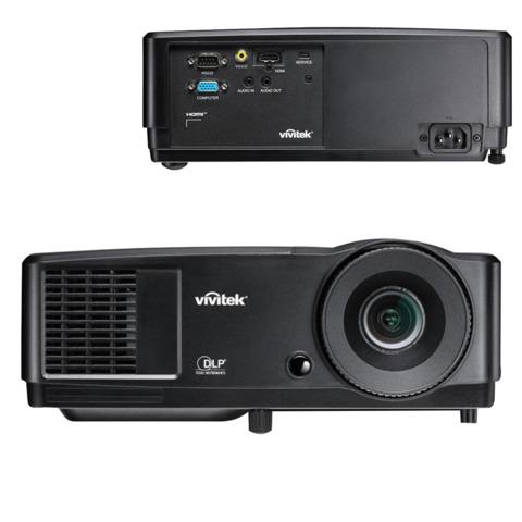 Проектор мультимедийный VIVITEK DS234, DLP, 800×600, 3200 Лм, 10000:1, 3D, VGA, HDMI