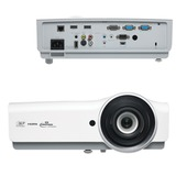 Проектор мультимедийный VIVITEK DX831, DLP, 1024×768, 4500 Лм, 15000:1, 3D, VGA, HDMI