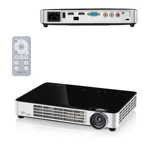 Проектор VIVITEK Qumi Q6, DLP, 1280х800, 16:10, 800 лм, 30000:1, LED, 0,48 кг, черный
