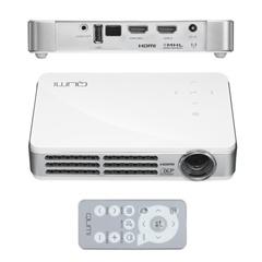 Проектор VIVITEK Qumi Q6, DLP, 1280×800, 16:10, 800 лм, 30000:1, LED, 0,48 кг, белый