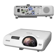 Проектор EPSON EB-525W, LCD, 1280×800, 16:10, 2800 лм, 16000:1, короткофокусный, 3,7 кг