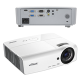 Проектор мультимедийный VIVITEK DX563ST, DLP, 1024×768, 3000 Лм, 15000:1, 3D, VGA, HDMI, короткофокусный