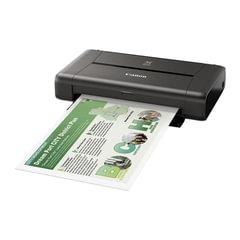 Принтер струйный CANON Pixma IP110, А4, 9600×2400, 9 стр./<wbr/>мин., Wi-Fi, портативный, работа от аккумулятора