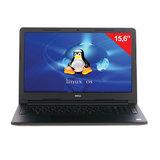 "Ноутбук DELL Inspiron, 15,6"", INTEL Pentium N3710, 1,6 ГГц, 4 Гб, 500 Гб, DVD-RW, Linux, черный"