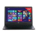 "Ноутбук DELL Inspiron, 15,6"", INTEL Core i3-5005U, 2 ГГц, 4 Гб, 1 Тб, DVD-RW, Windows 10, черный"
