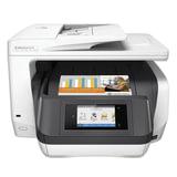 МФУ струйное HP OfficeJet Pro 8730 (принтер, сканер, копир, факс), A4, 2400×600, 24 стр./<wbr/>мин, ДУПЛЕКС, АПД, Wi-Fi, с/<wbr/>к