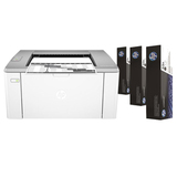 Принтер лазерный HP LaserJet Ultra M106w, А4, 1200×1200, 22 страницы/<wbr/>минуту, 20000 страниц/<wbr/>месяц, Wi-Fi