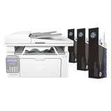 МФУ лазерное HP LaserJet Ultra M134fn (принтер, копир, сканер, факс), А4, 1200×1200, 22 стр./<wbr/>мин, 20000 стр./<wbr/>мес., сетевая карта