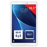 "Планшет SAMSUNG GALAXY Tab A, 10,1"", 4G (LTE), 2/<wbr/>8 Мп, 16 ГБ, MicroSD, белый, пластик"