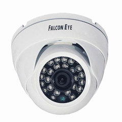 """Камера AHD купольная FALCON EYE FE-ID720AHD/<wbr/>20M, 1/<wbr/>4"""", внутренняя, цветная, 1280×720, белая"""