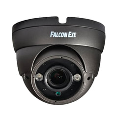 "Камера AHD купольная FALCON EYE FE-IDV720AHD/<wbr/>35M, 1/<wbr/>3"", уличная, цветная, 1280×960, регулируемый фокус, серая"