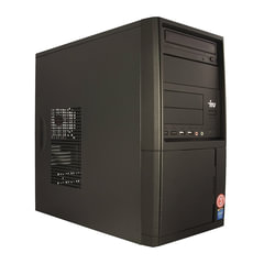 Системный блок IRU Office 511 MT INTEL Core-i5 7400 3 ГГц, 8 ГБ, 1 ТБ, DVD-RW, DOS, черный
