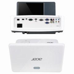 Проектор ACER U5220, DLP, 1024×768, 4:3, 3000 лм, 13000:1, ультракороткофокусный, 5,5 кг