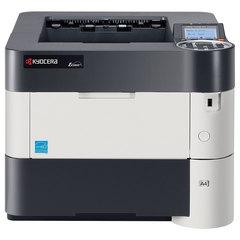 Принтер лазерный KYOCERA ECOSYS P3060dn, А4, 60 стр./<wbr/>мин., 275000 стр./<wbr/>мес., ДУПЛЕКС, сетевая карта