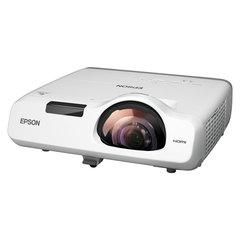 Проектор EPSON EB-530, LCD, 1024×768, 4:3, 3200 лм, 16000:1, короткофокусный, 3,7 кг