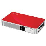 Проектор VIVITEK Qumi Q3 Plus, DLP, 1280×720, 16:9, 500 лм, 5000:1, LED, мобильный, 0,46 кг, красный