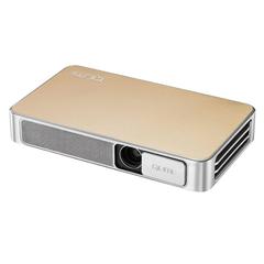 Проектор VIVITEK Qumi Q3 Plus, DLP, 1280×720, 16:9, 500 лм, 5000:1, LED, мобильный, 0,46 кг, золотой