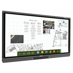 "Интерактивная LED-панель NEWLINE TruTouch TT-5515B, 55"", 1920×1080, 16:9, Android, 10 касаний"