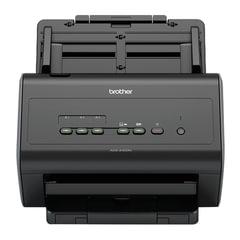 Сканер потоковый BROTHER ADS-2400N, А4, 1200×1200, 60 стр./<wbr/>мин., 3000 стр./<wbr/>день, АПД, сетевая карта (кабель USB в комплекте)