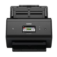 Сканер потоковый BROTHER ADS-3600W, А4, 1200×1200, 50 стр./<wbr/>мин, 5000 стр./<wbr/>день, АПД, сетевая карта, Wi-Fi (каб USB в комп)