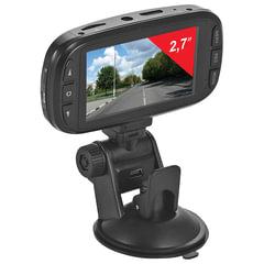 Видеорегистратор SUPRA SCR-74SHD, AV, miniUSB, HDMI, 170°, экран 2,7, FullHD, 2304×1296, microSD до 64 Гб
