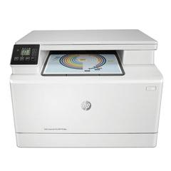 МФУ лазерное ЦВЕТНОЕ HP LaserJet Pro M180n «3 в 1», А4, 16 стр./<wbr/>мин, 30000 стр./<wbr/>мес, сетевая карта